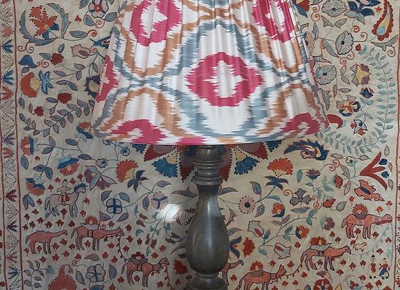 45cm Diamond Pink Silk Lampshade