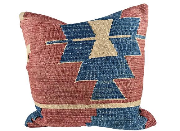 50 x 50cm Hydrangea Kilim Cushion
