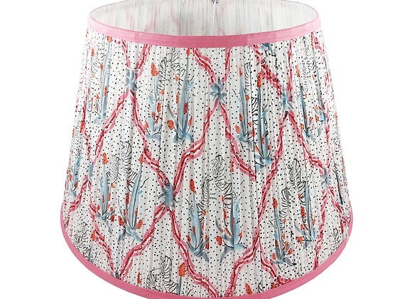 45cm Equus Star Pink Cotton Gathered Lampshade