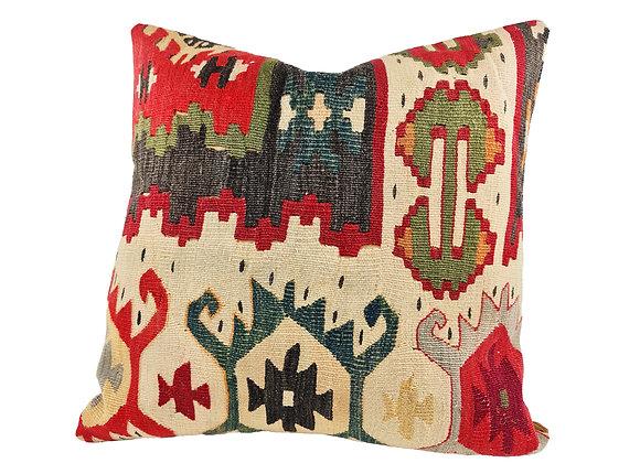 42cm Forest Kilim Cushion