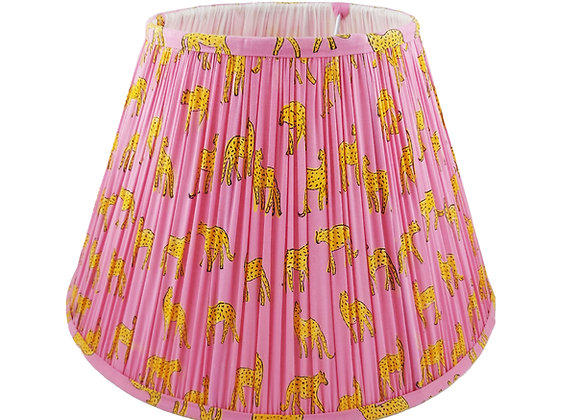 40cm Pink Kotiya Cotton Gathered Lampshade