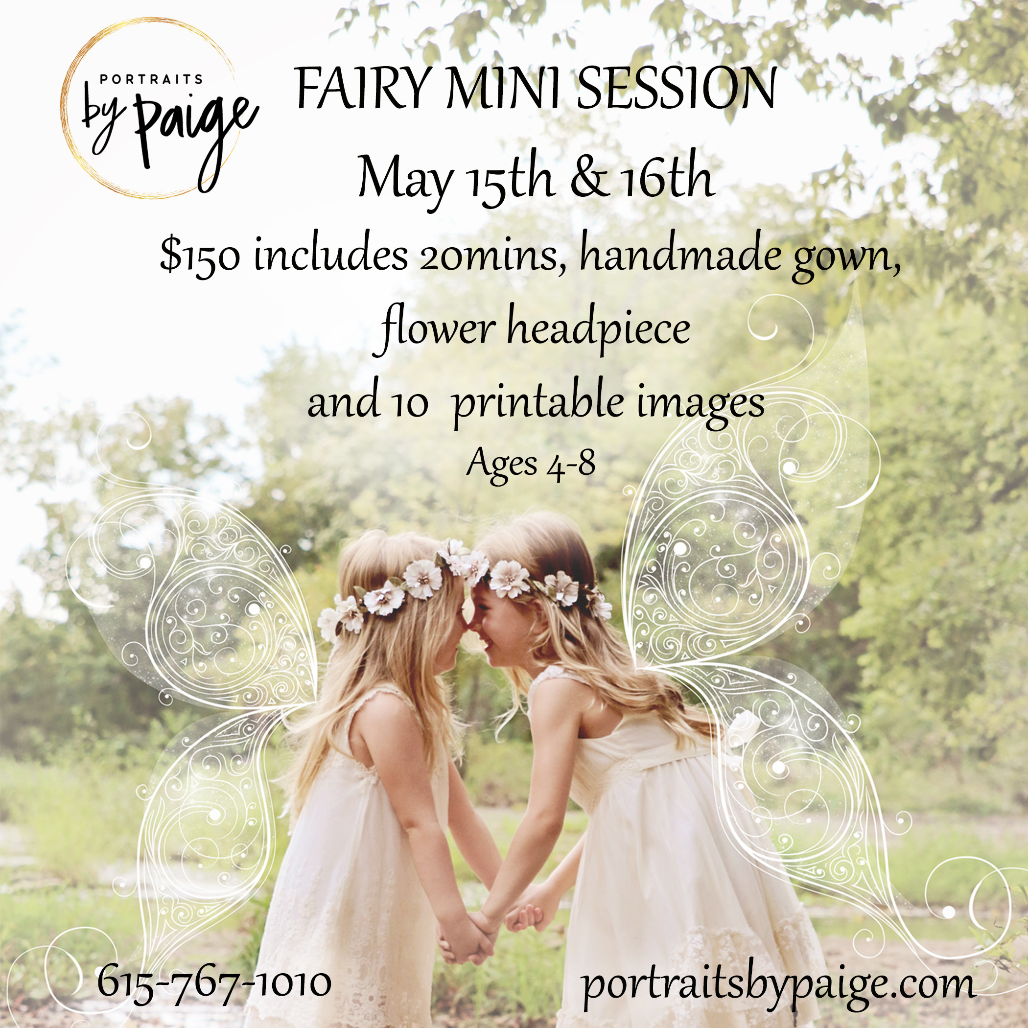 Spring 2021: Fairy Mini Session