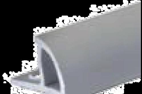 Perfil Azulejo Gris Liso Cerrado 11,5 mm