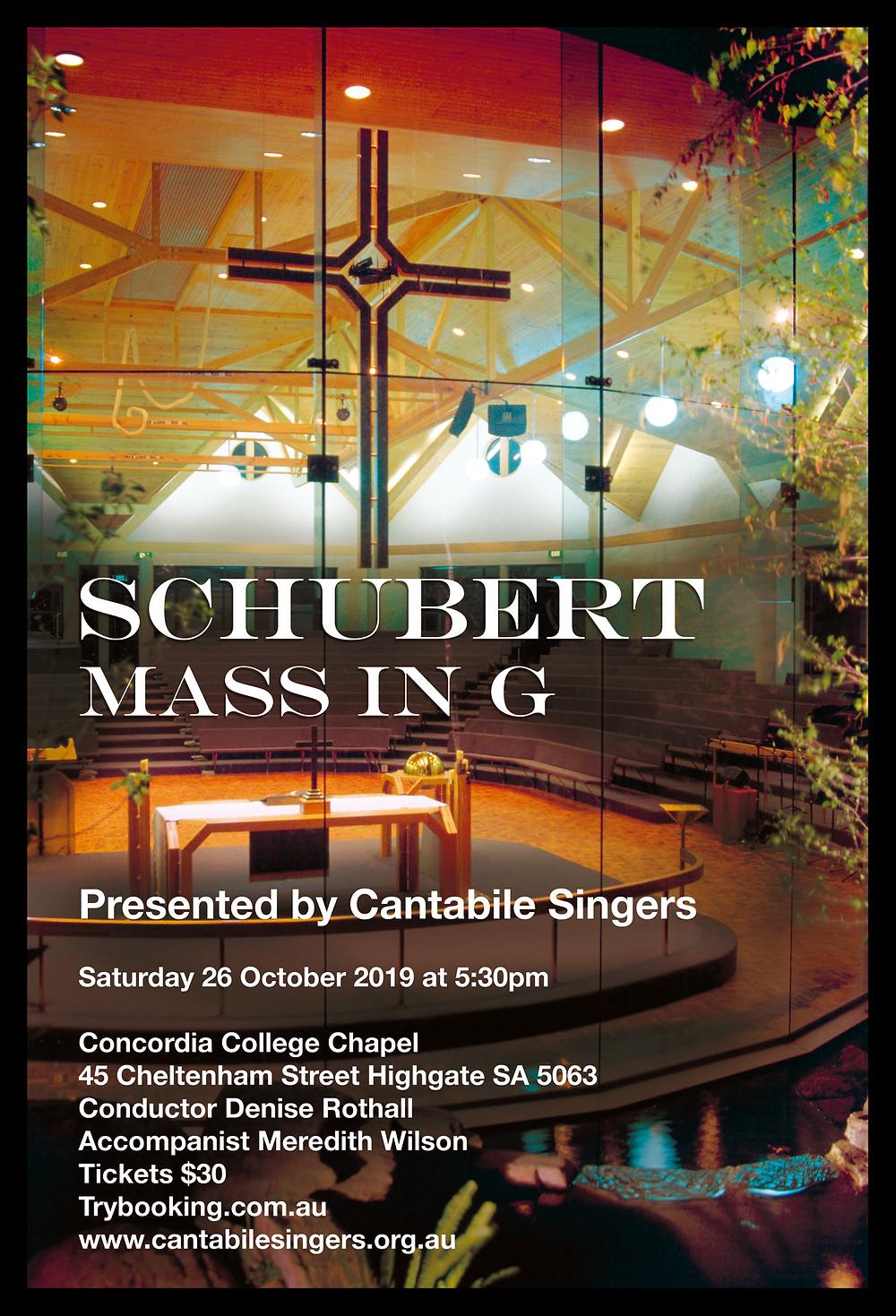 CS Schubert Small poster