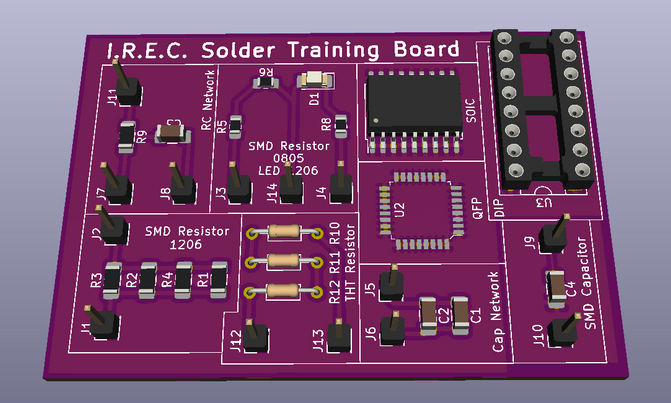 Solder Training Board