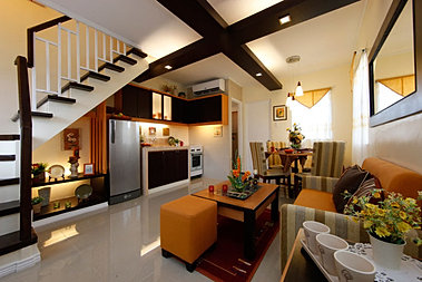 Carmela model house interior design