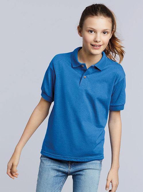 GD40B   Kids DryBlend® Jersey knit polo