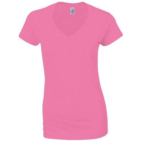 GD078 Softstyle™ women's v-neck t-shirt