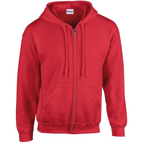 GD058 Heavy Blend™ full zip hooded sweatshirt