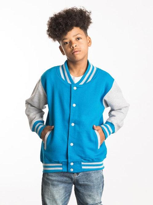 JH43J   Kids varsity jacket