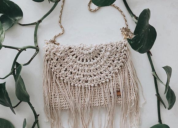 Bohemia de algodón 🌿 con cadena