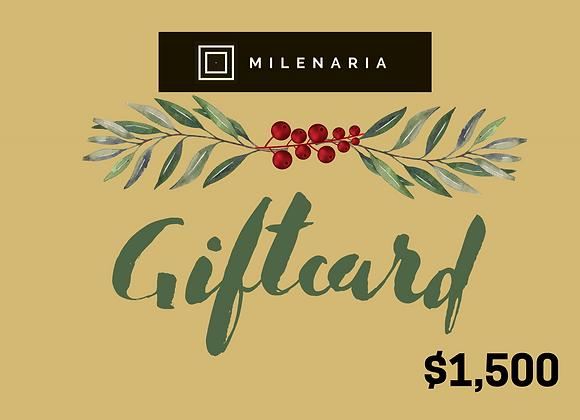 Giftcard - Tarjeta de regalo