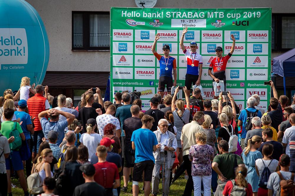 Gratulujeme! Stupně vítězů na Mistrovství České republiky.