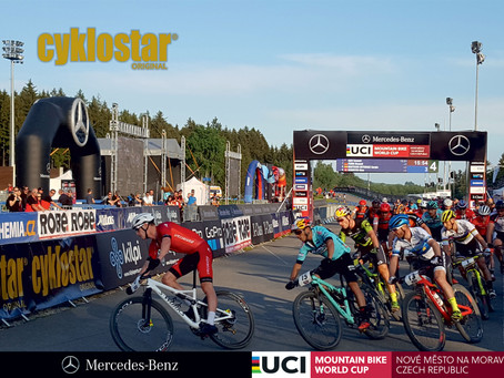 Pozvánka na Světový pohár UCI MTB Nové Město na Moravě 2019