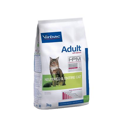 HPM Adult Salmon Neutered & Entire cat