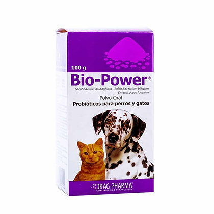 BIO-POWER Mascotas - Polvo Oral