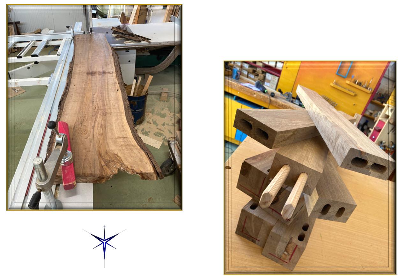 Tavolo in legno massell