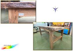 Tavolo in legno massello
