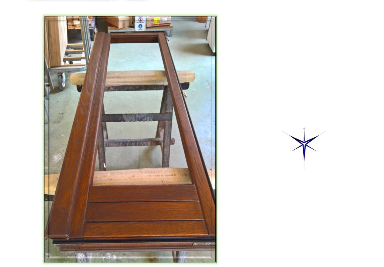 Restauro legno Castagno