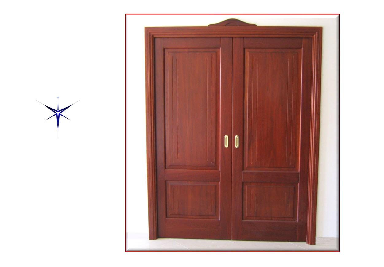 Porta in legno Niangon