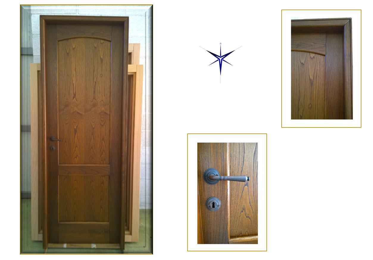 Porta in legno Castagno