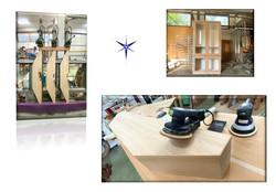 Mobile sagomato in legno