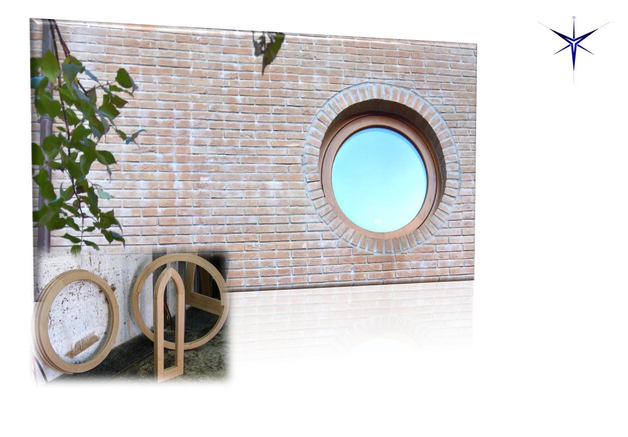 Finestra in legno Castagno