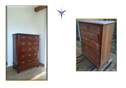 Restauro mobile in legno