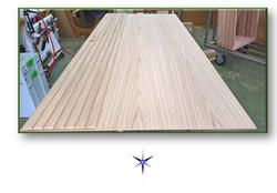 Portone in legno Rovere
