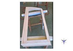 Finestre in legno ad arco
