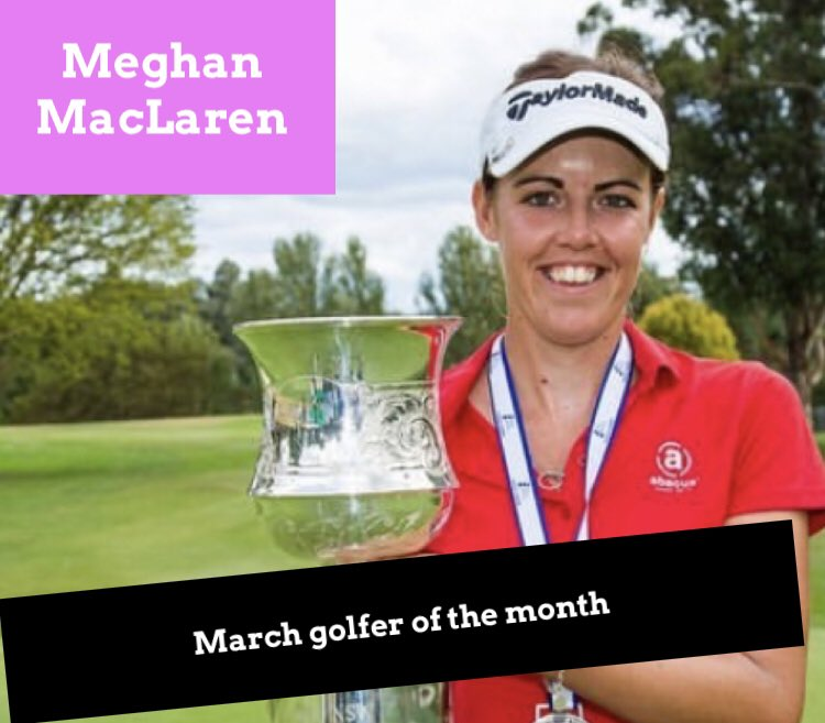 March Golfer of the Month