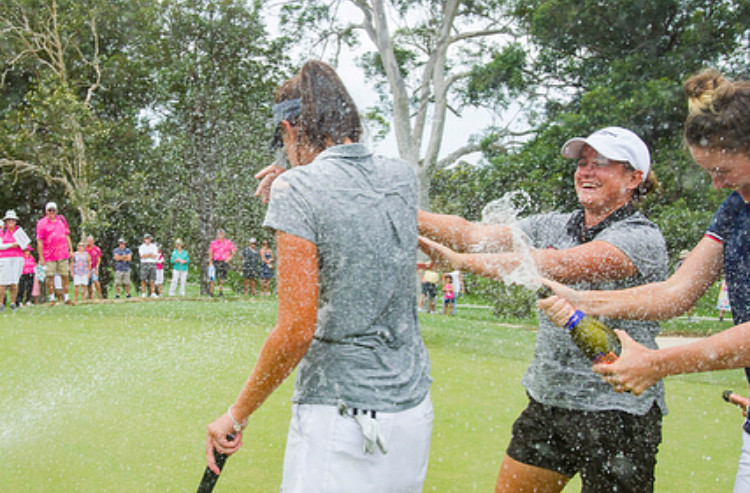 Meghan MacLaren wins her first LET title