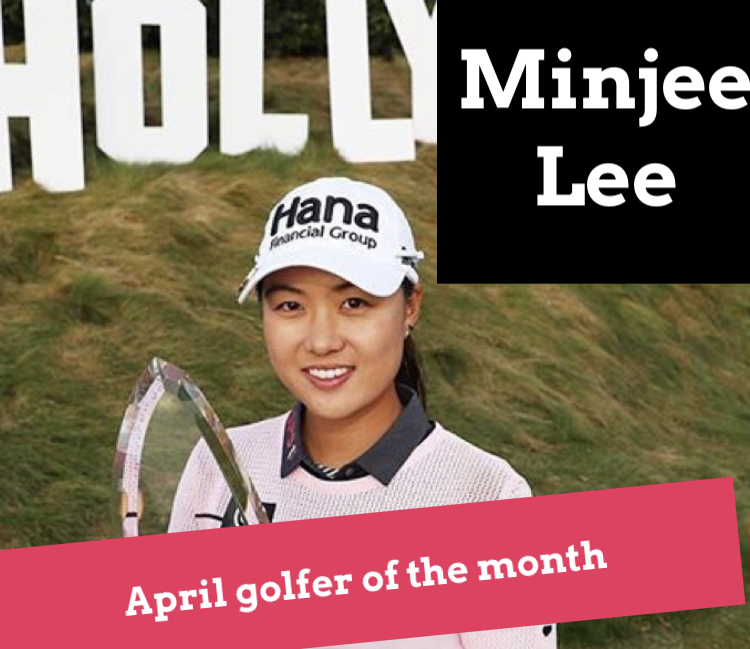 April Golfer of the Month