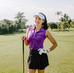 Fit Golfer Girl