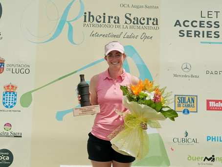 We spoke to Rachael Goodall about her victory at the weekend on the LET Access Tour.