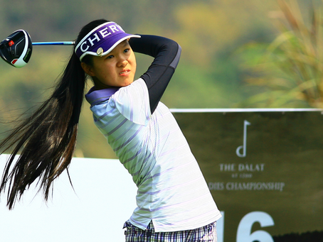 Get to know Hanako Kawasaki. A teenage golfer from Vietnam who has had a great start to her amateur