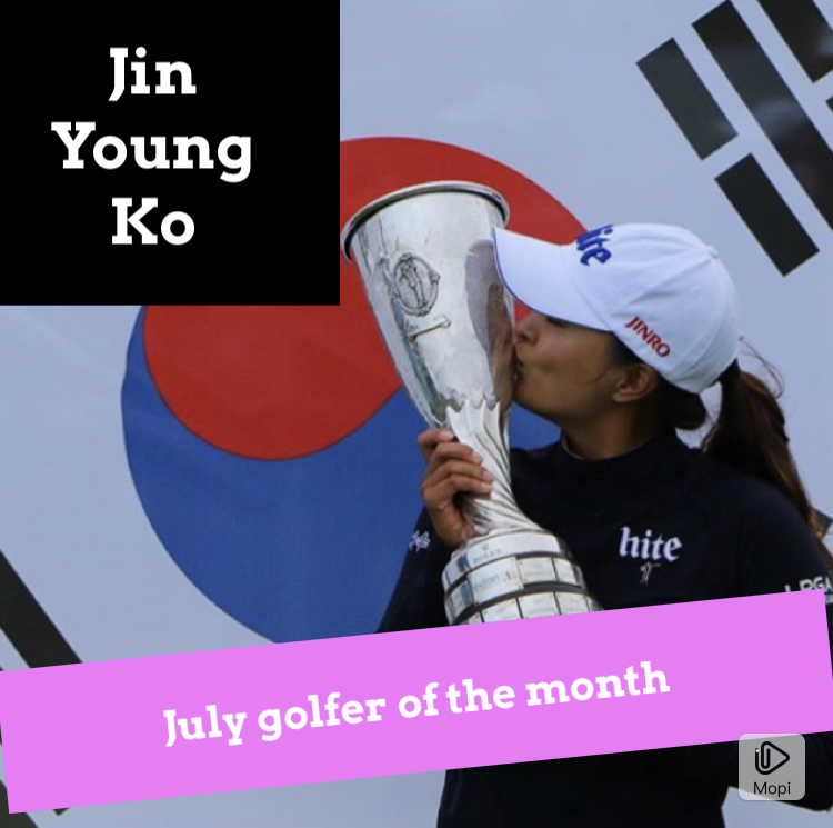 July golfer of the month