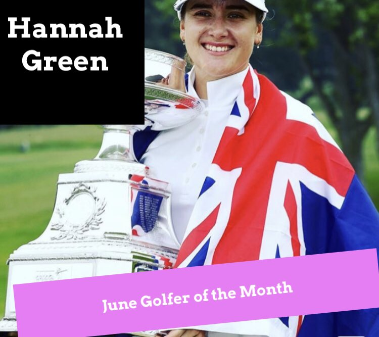 June Golfer of the Month