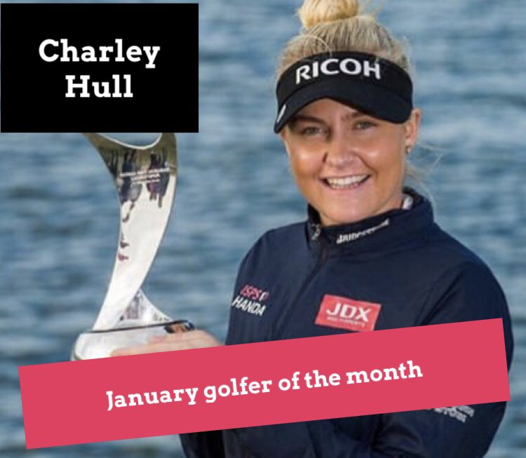 January Golfer of the Month