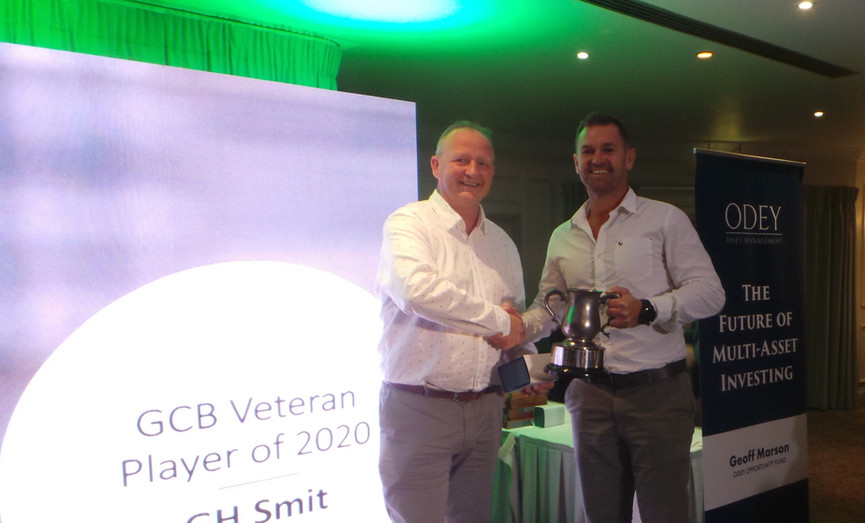 GH Smit - Veteran Player of the Year