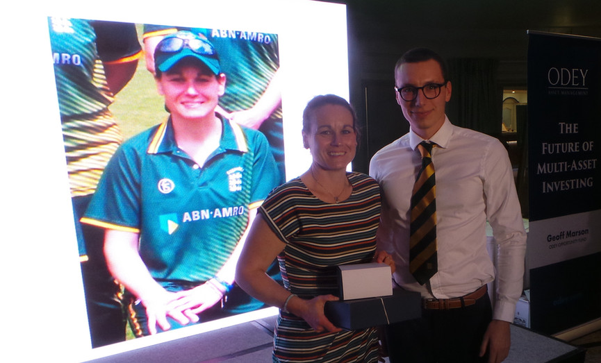 Claire Jennings - Women Player's Player of the Year