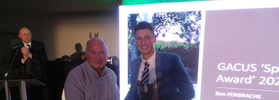 Ben Ferbrache - GACUS Spirit of Cricket Award