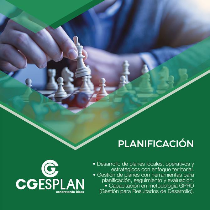 ¿Planificación? ¡Nosotros te ayudamos!