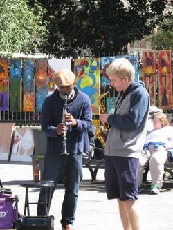 Street musicens