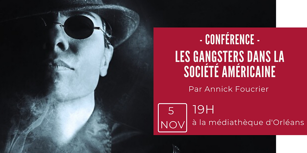 Conférence sur les gangsters dans la société américaine
