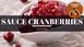 Sauce cranberries