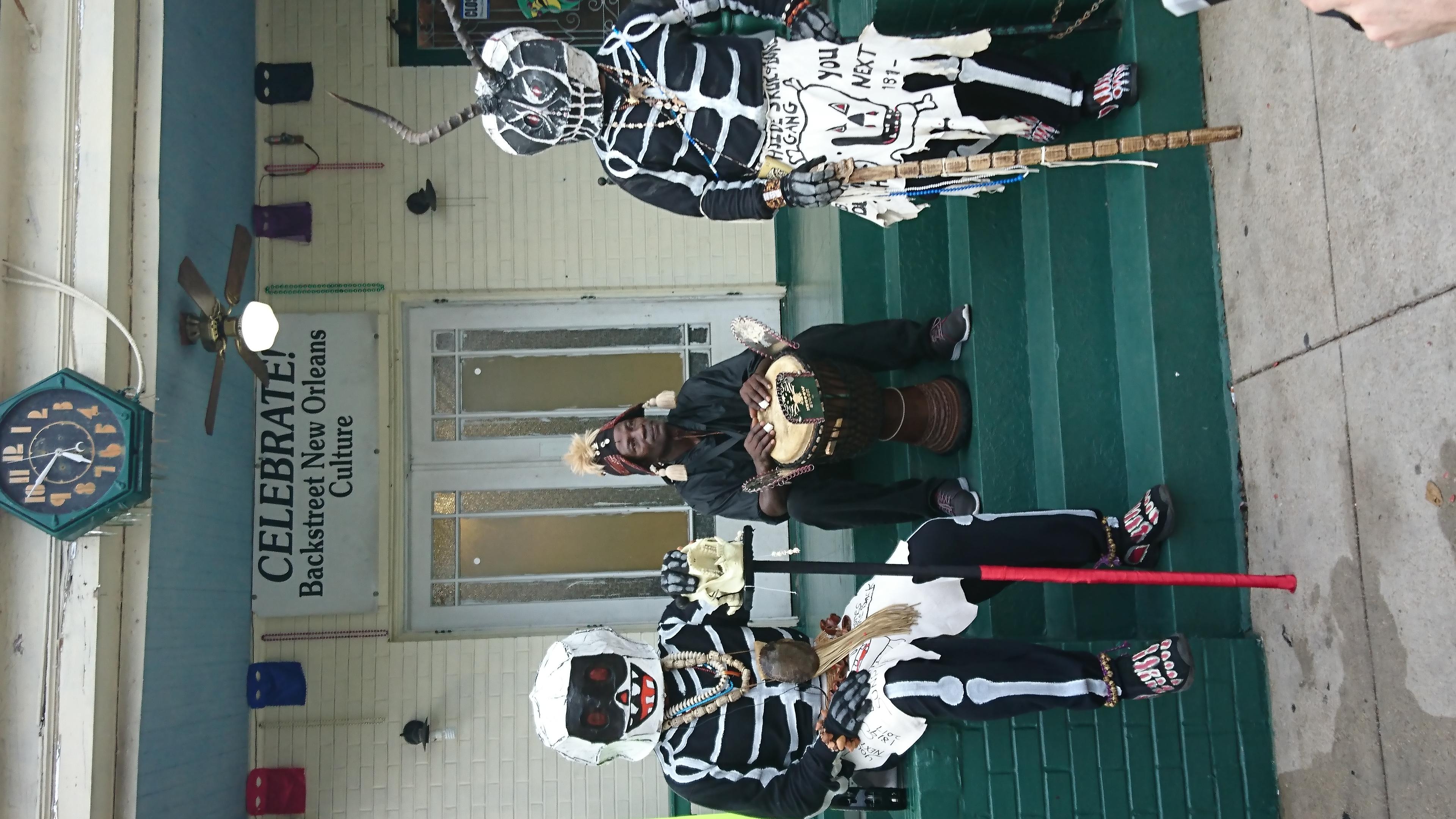 Costume traditionnel Mardi Gras