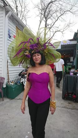 Costume du Mardi Gras