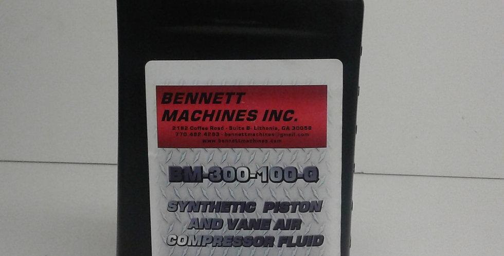 BM-800-100-8 synthetic Lubricant (1 Quart)