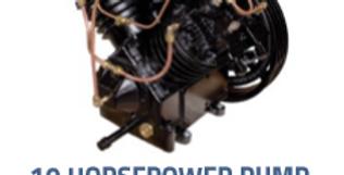 10 Horsepower Pump (452 Kellogg Replacement)